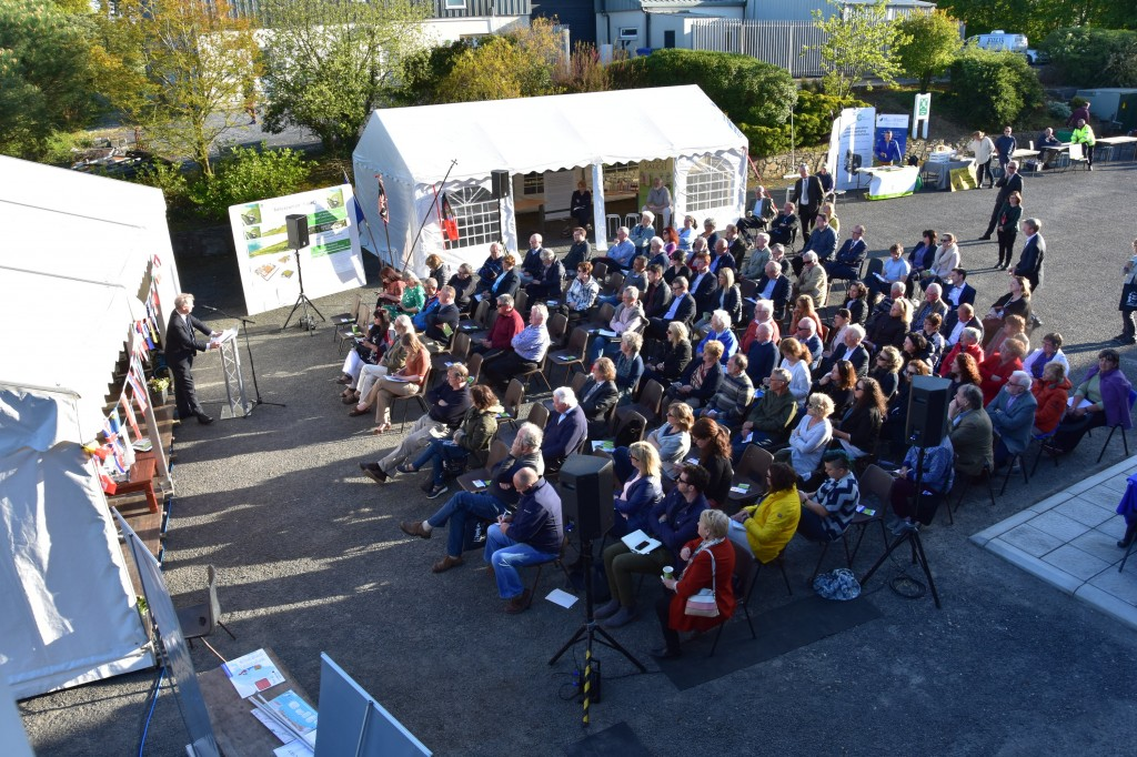 The audience pictured at the Citizen's Dialogue event at Dunhill Ecopark last week. Photos: Tina Schley.