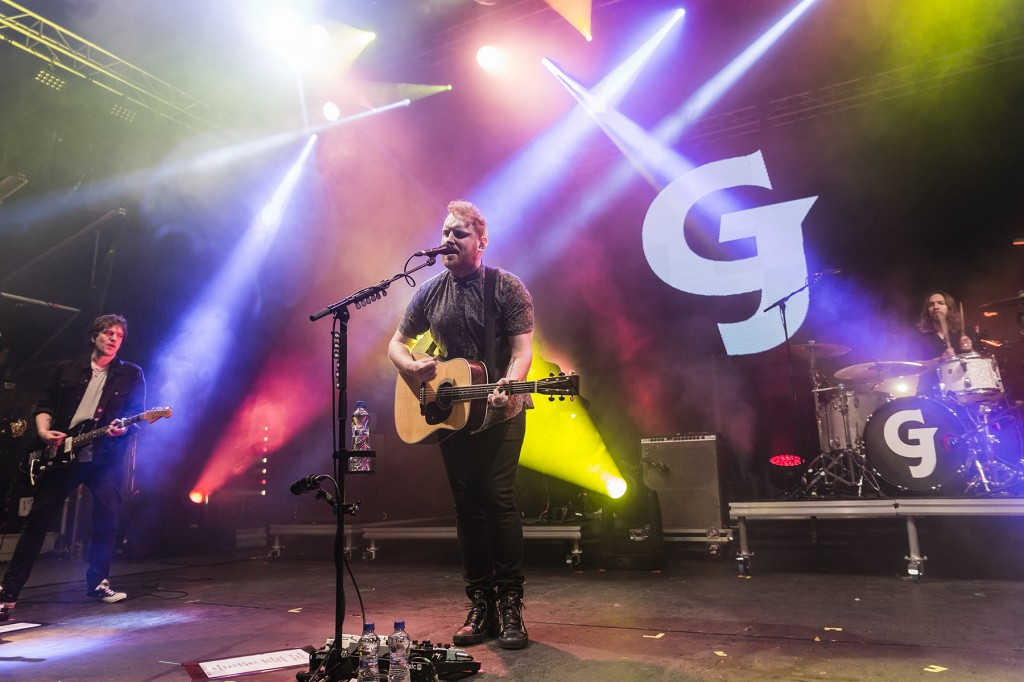 Gavin James went down a treat with the Daytripper audience on Saturday last.  								| Photos: Mick Wall
