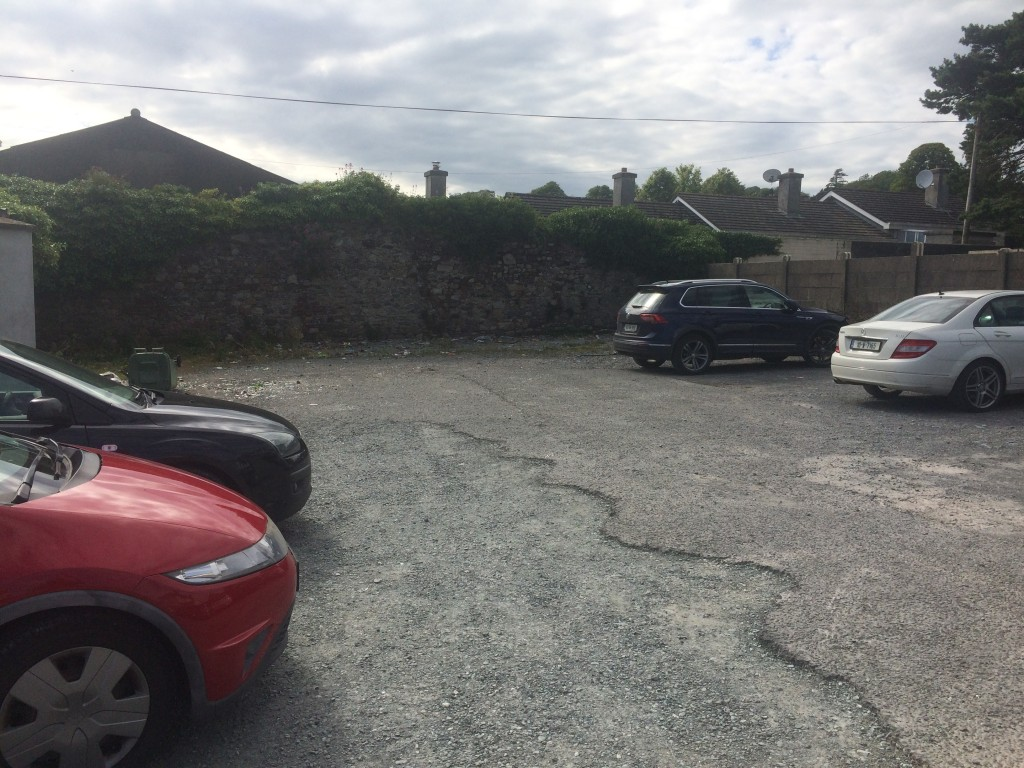 The carpark where the illegal boxing matches are alleged to have taken place