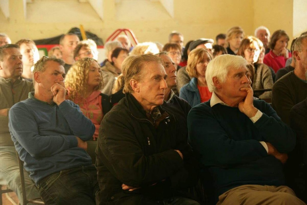 Locals in Clonea Power at the latest in a series of meetings held by opponents to the solar farm for the Mothel and Curraghduff area.
