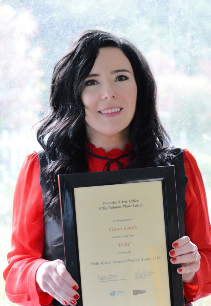 rsz_e1picFiona Ennis from Butlerstown, Co Waterford is the winner of the national Molly Keane Creative Writing Award 2019.