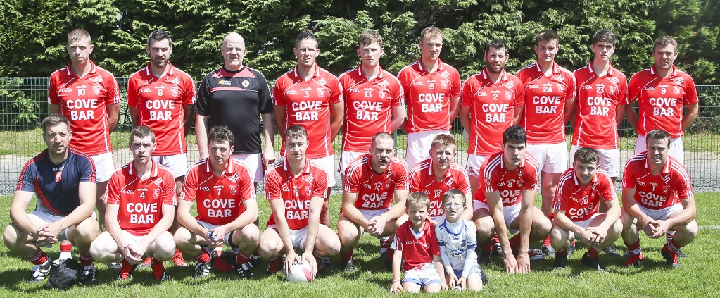 Stradbally who defeated Portlaw to finish top of Group B with 6 points