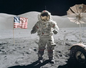 Everybody knows that on July 20, 1969, Neil Armstrong became the first human to walk on the moon. The last man to walk on the moon in December 1972 was Gene Cernan (pictured above) who was Commander of the Apollo 17 mission. America plans to return to the moon in 2024.