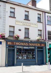 Tom Maher's pub on O'Connell Street.