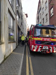 Waterford City Fire Service responded to a fire at a vacant unit at Penrose Quay last Tuesday evening. Cllr Donal Barry raised concerns about the site at last week's Metropolitan meeting