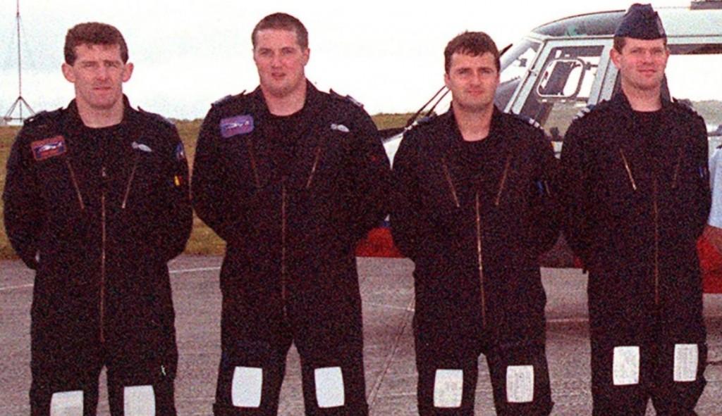The crew of Rescue 111.