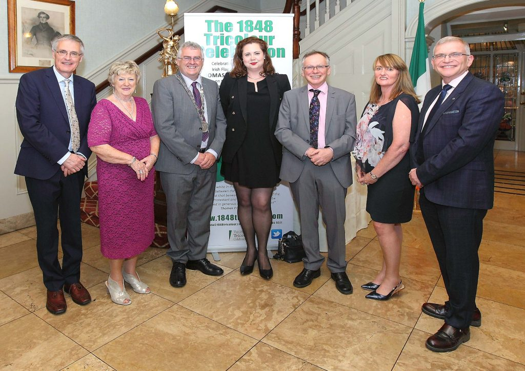 The Mayor of Waterford City & County Council, Cllr. John Pratt pictured with Prof. Willie Donnelly, President, WIT, Prof. John Wells, WIT, Dr. Jennifer Kavanagh, WIT, Dr. Eugene Broderick, Ann Cusack, Chairperson and Janet Carey.