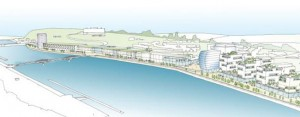 Construction works on the North Quays project are expected to be completed by the middle of 2022.