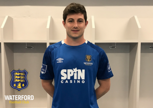 Defender John Kavanagh joins Waterford FC