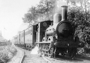 The much loved and not so fast Tramore to Waterford steam train.