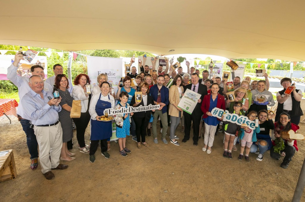 Group pictured at Grow HQ as they showcased Waterford's food and drink.