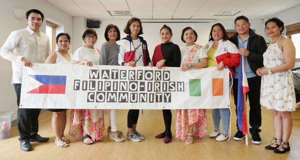 Members of the Waterford-Filipino Irish Community. Photos: Don Karim.