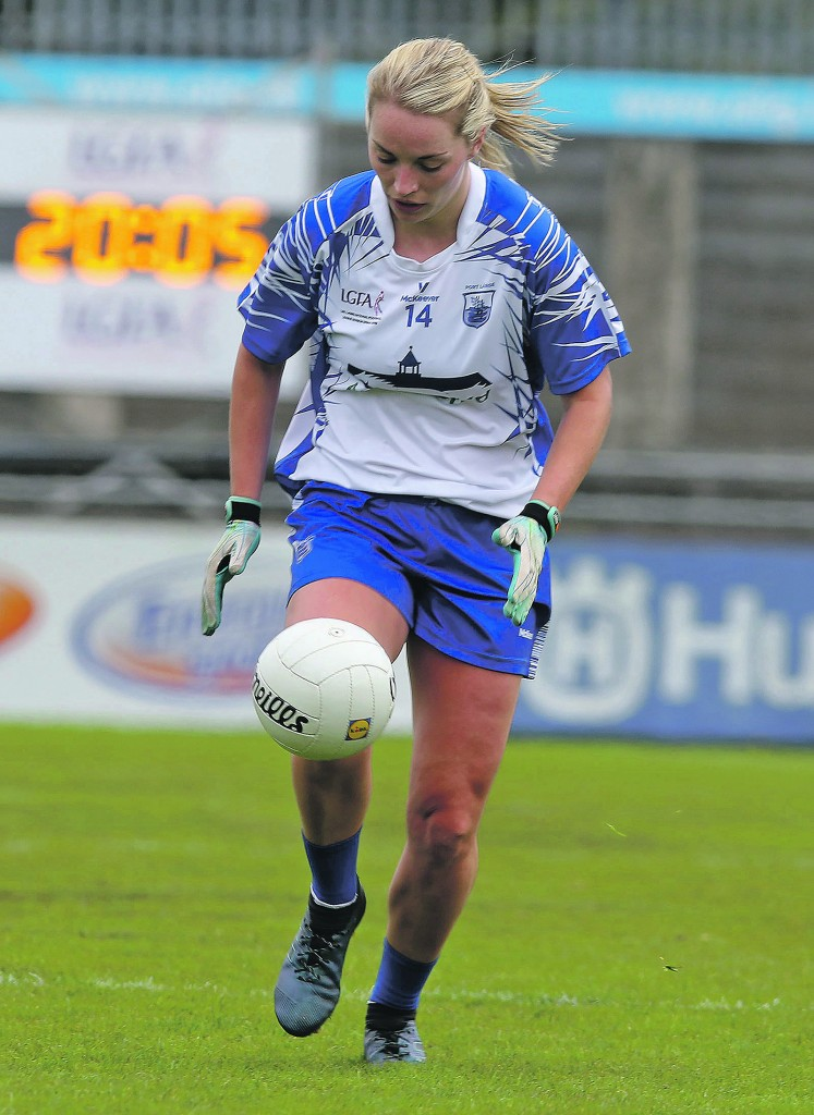 Waterford's Maria Delahunty will be hoping to take her excellent form into next Saturday's quarter-final against Galway
