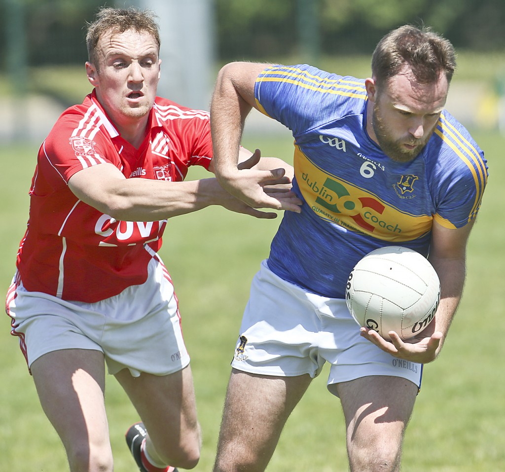 Frank Galvin in action for Portlaw