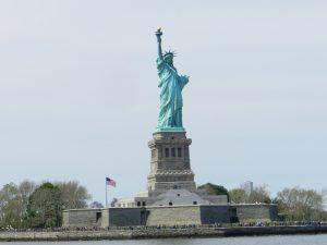 New York Statue of Liberty.