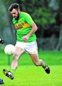 Conor Hayes in action for Kilrossanty during the championship  Photo: Sean Byrne