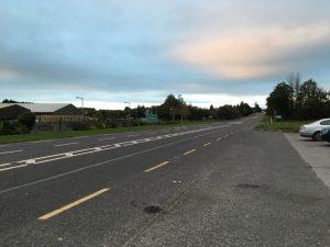 Carroll's Cross junction on the N25.