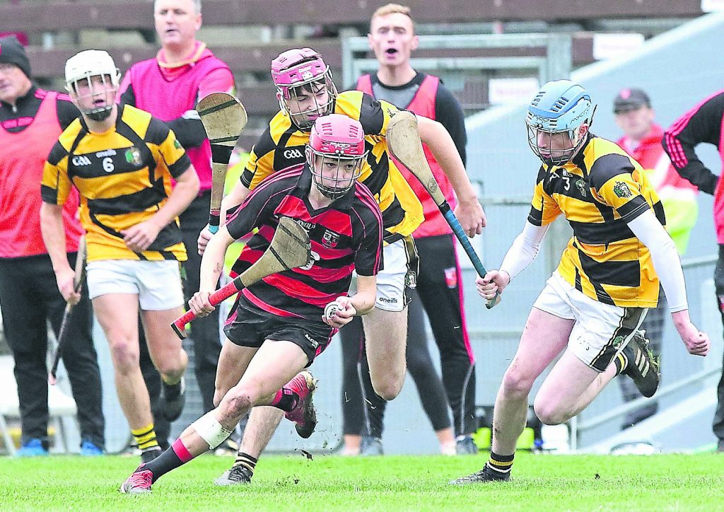 Ballygunner's Jake Foley was in top form all afternoon and his Man of the Match performance proved too much for the St. Carthage defence on many occasions.