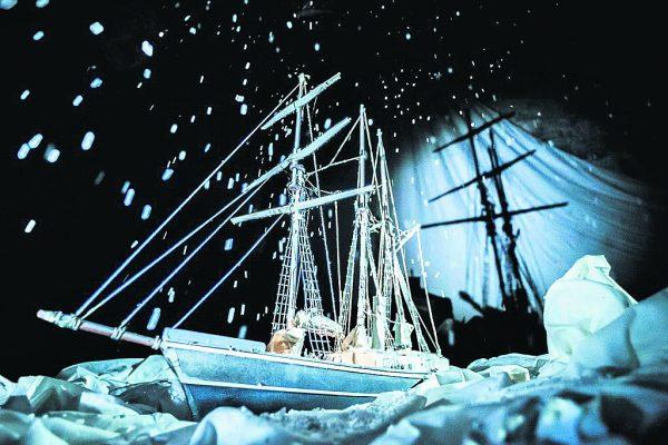 Shackleton at Garter Lane