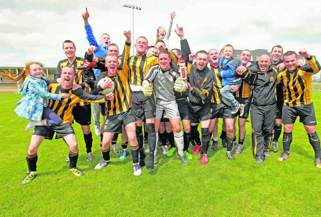 Johnville; Youth 'B' League winners 2013