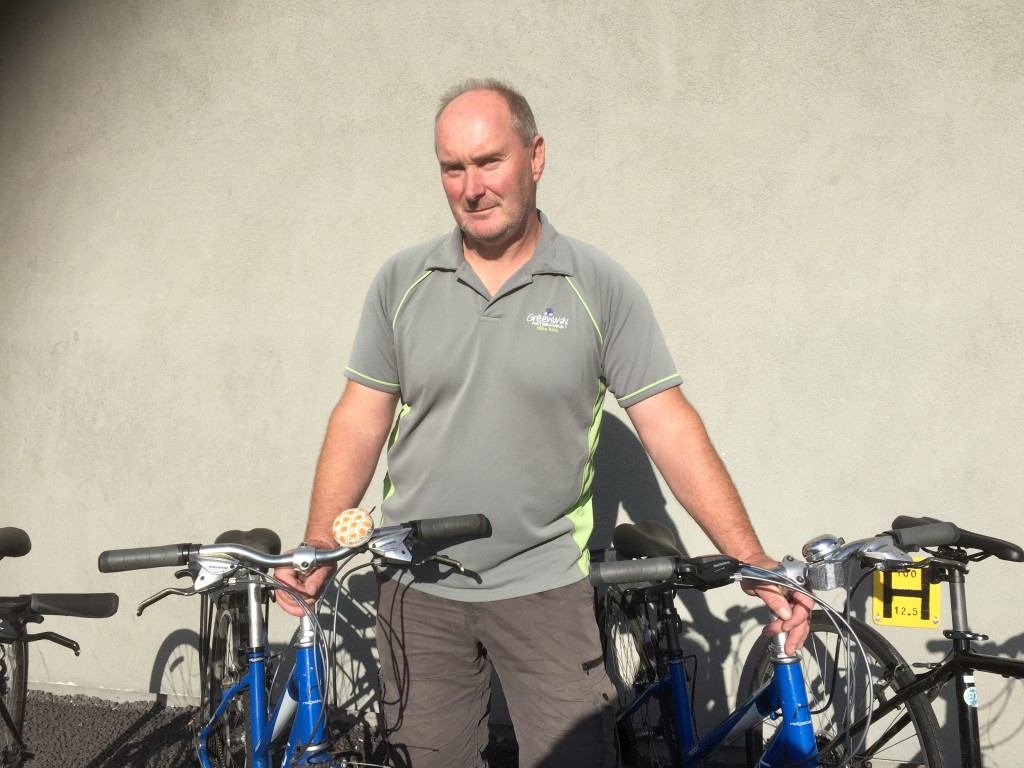 Donal Jacob from Waterford Greenway Bike Hire at Carriganore says he will close the business if insurance is not secured by next April
