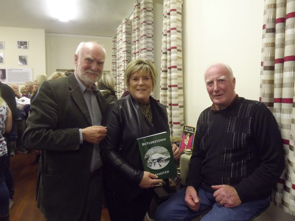 Peter Griffin, Mary Butler TD and Pakie O'Brien