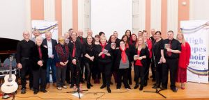 The High Hopes Choir pictured at City Hall, Waterford.