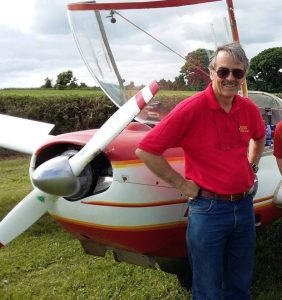 Peter Tawse who died in Sunday evening's crash in Co Wexford. Photo: Waterford Aero Club.