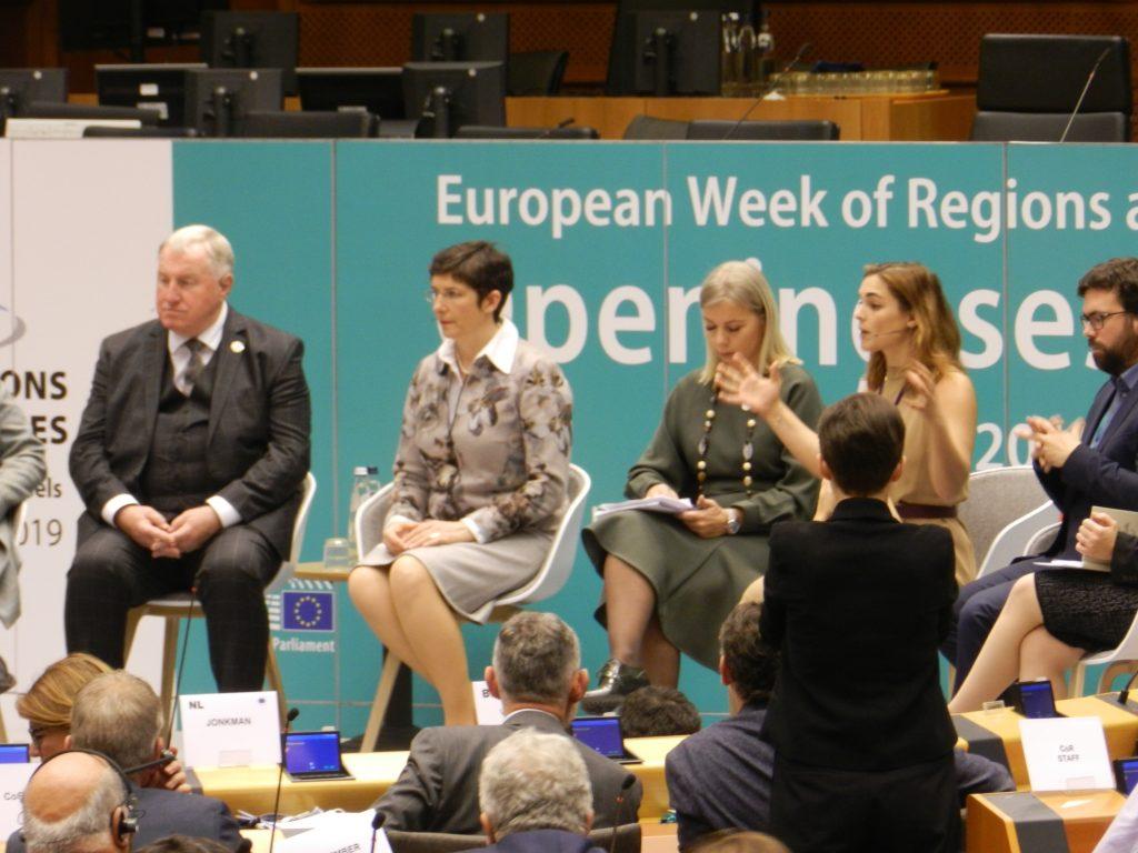 Euro Week of Regions Panel.