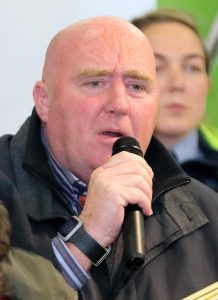 Cllr John Hearne was among those who supported the development, citing the housing crisis.