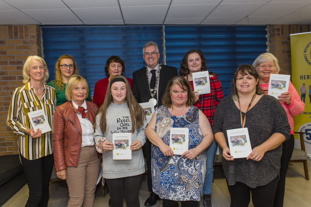 Group pictured at the official launch of Waterford Intergenerational Group's booklet entitled 'A Trip Down Memory Lane'. Photos: Mick Wall.