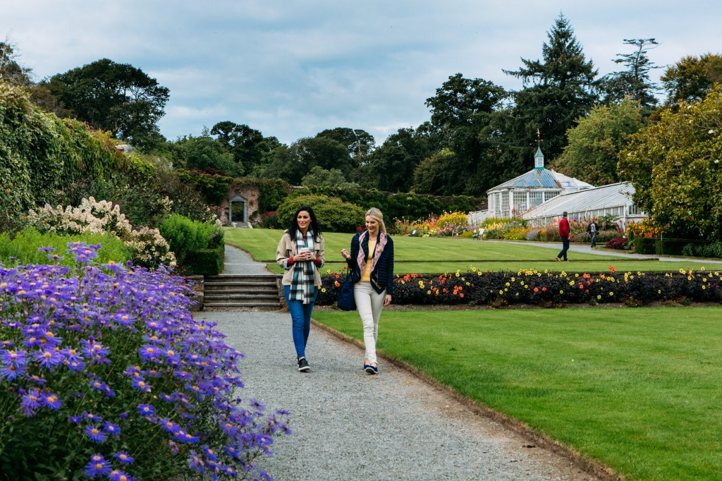 Minister John Halligan said Mount Congreve is world-renowned for the scale, spectacle and variety of its gardens.
