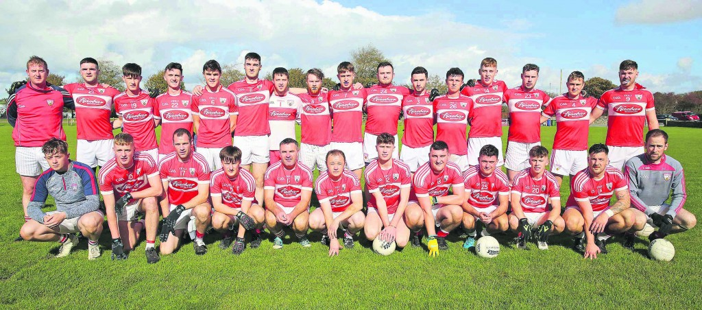 The Ballyduff Lower team that lost to Croom in Limerick on Saturday.  Photo: Maurice Hennebry.