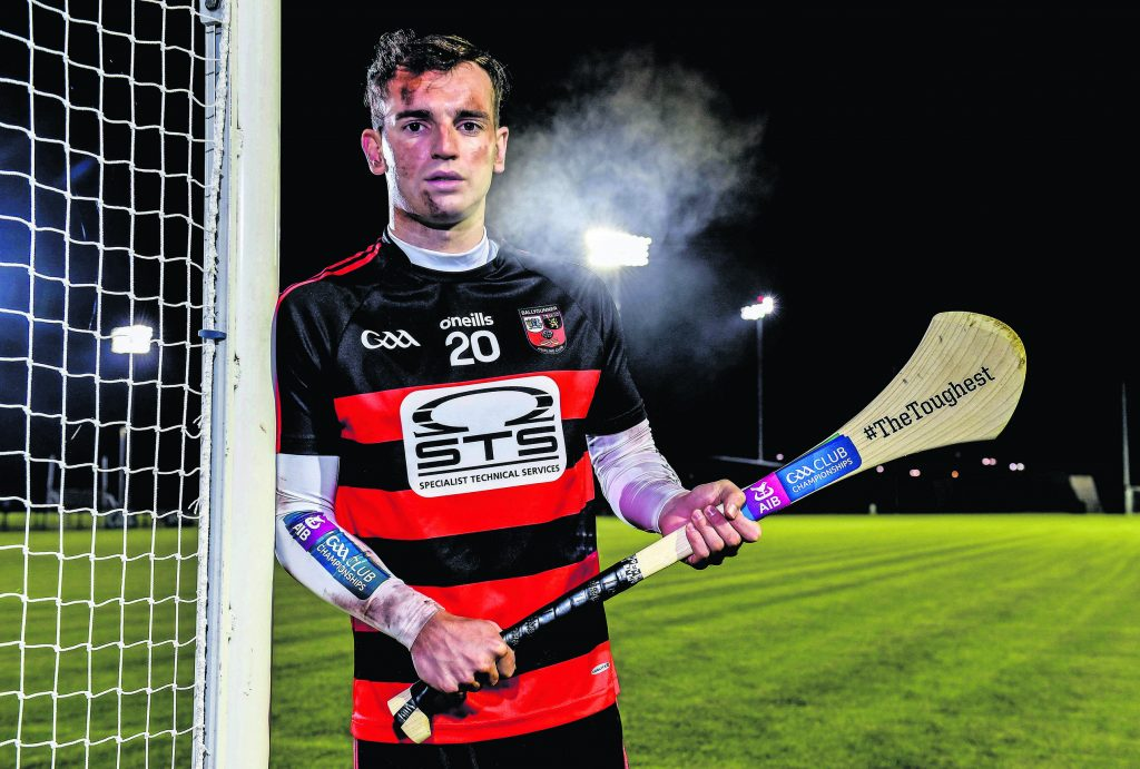 Ballygunner hurler Dessie Hutchinson at the launch of the AIB club hurling and camogie championships. This is AIB's 29th year sponsoring the AIB football and hurling club championships and the seventh year sponsoring the camogie club championship.