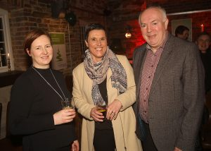 Sinead Quealy, Virtual Vet, Karen Cheevers, B2B Communications, and Richie Walsh, LEO Waterford Head of Enterprise,