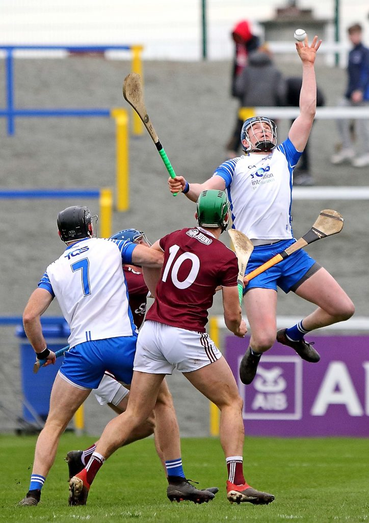 Huge jump by Waterford's Austin Gleeson.