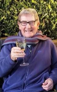 Cheers from pianist Bernie Flanagan who died last week.