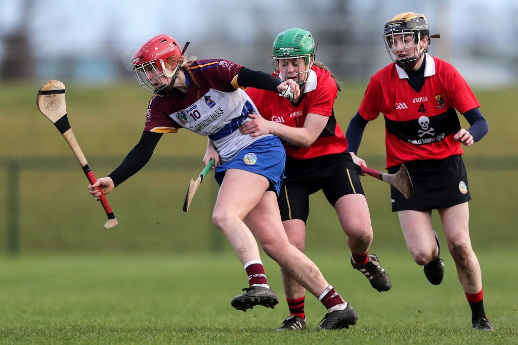 Beth Carton in action for UL against UCC in the Ashbourne Cup Final