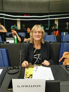 MEP Grace O'Sullivan.