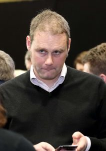 Marc Ó Cathasaigh awaiting results.