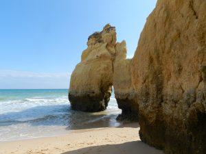 Armacao de Pera beach.