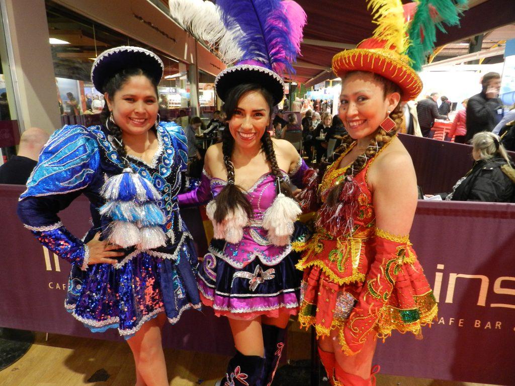 South America dancers.