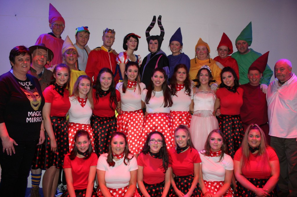 Cast members in the 2019 production of 'Snow White and the Seven Dwarfs'.