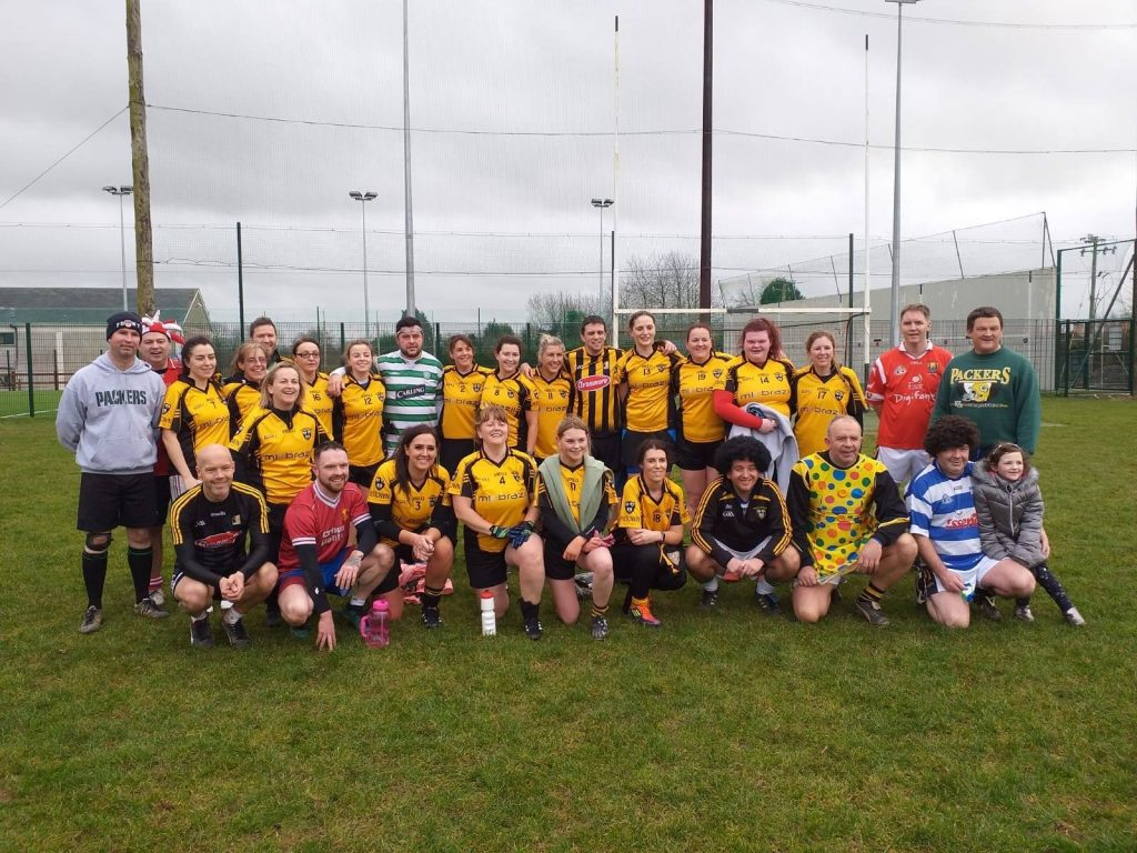 The cast of 'Forrest Gump' organised a Ladies vs Men Gaelic Football match at the GAA Complex.