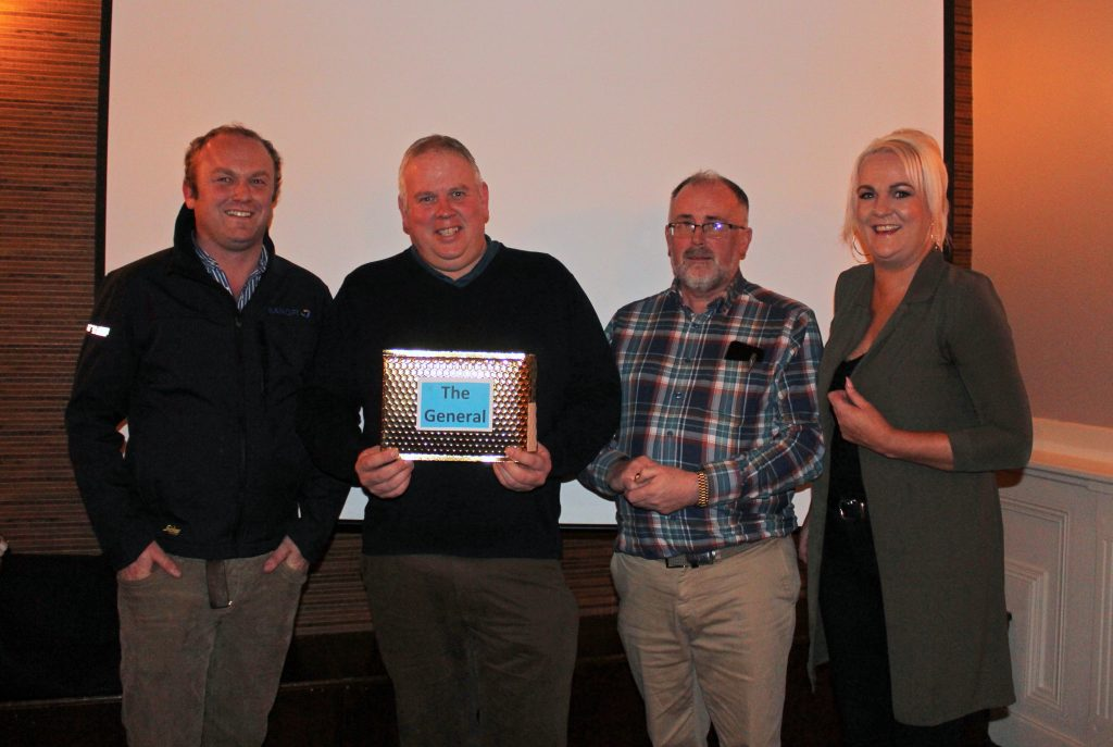The cast of 'The General'. Cahill: Niall Bergin; Noel: Aidan Falconer; Frances: Shannon Keever (missing from photo); Tina: Sarah Dunleavy (missing from photo); Inspector Kenny: Val Treacy. Film Producer – Michelle O' Shea