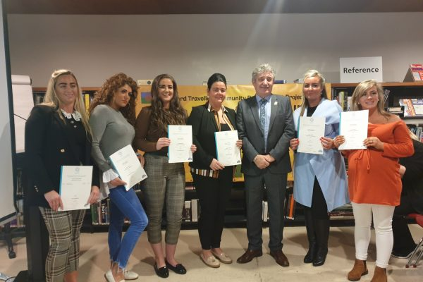 Young Traveller women praised  after community leader qualifications