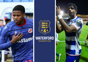 : Akin Odimayo and Andre Burley who have signed on loan from Reading FC.