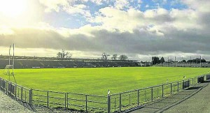 Walsh Park. GAA grounds will see no action for the foreseeable future.