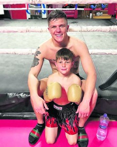 Like many, Dylan is convinced the future of Waterford boxing lies in safe hands with brother Mason (12).