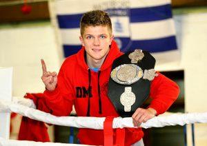 Dylan Moran pictured at the Raging Bull Kickboxing Club in 2014 Photo: Noel Browne